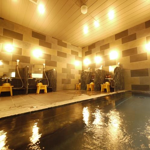 【女性大浴場】ルートイン自慢の大浴場!!旅の疲れをゆっくり癒しませんか?