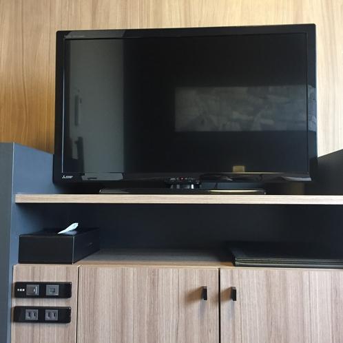 【客室】TV