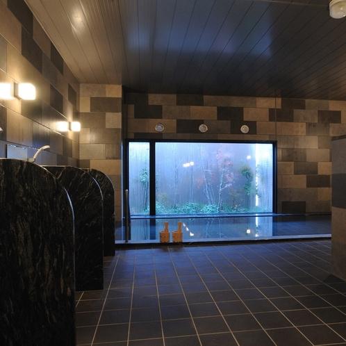 【男性大浴場】心も体も温まります。
