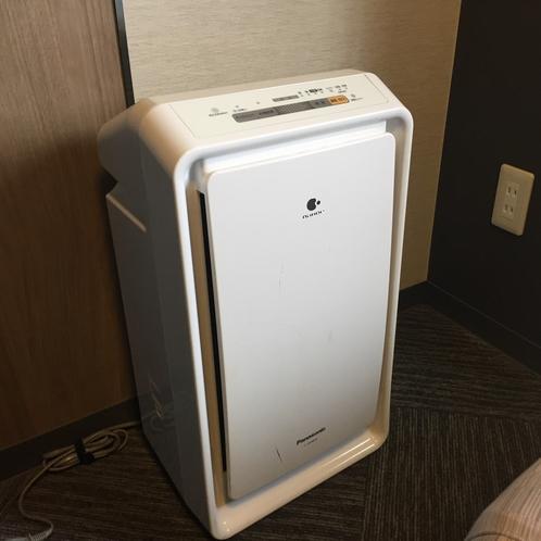 【客室】空気清浄機をご用意しております。