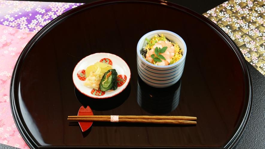 ■春-笹倉 香りご飯は最上級コースのみお楽しみいただける一品です。