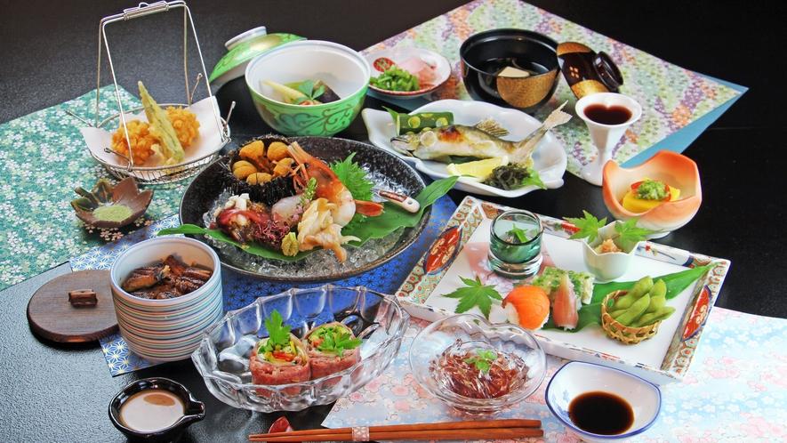 ■夏-笹倉 ウニに鰻飯に和牛冷しゃぶと豪華食材の饗宴♪