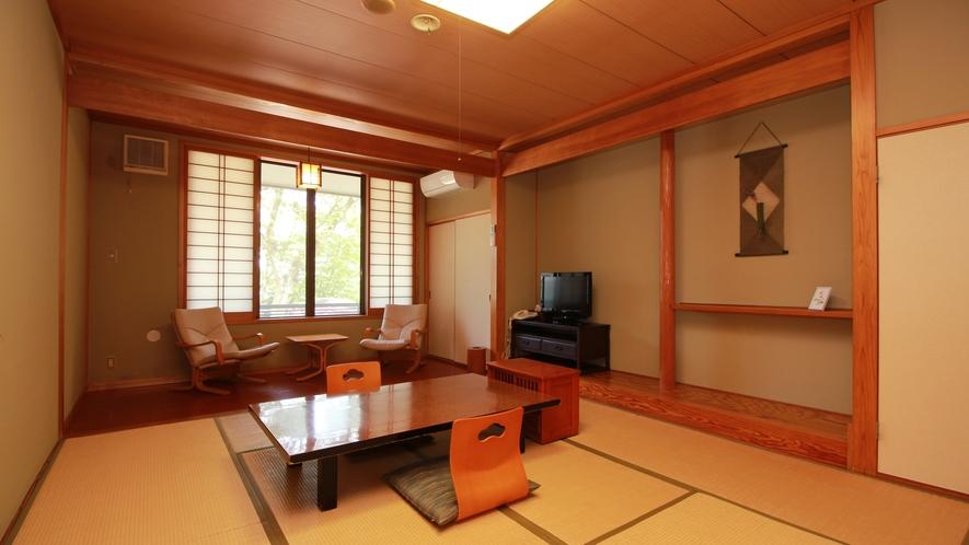■スタンダード和室【りんどう-rindou-】 踏込+板間付きでゆったり(お風呂に一番近い部屋で利便