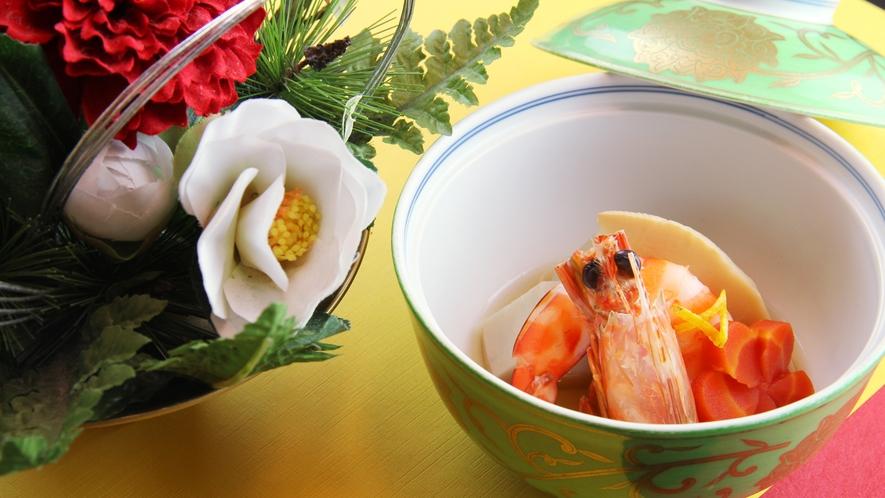 ■期間限定-お正月 素材にはとことんこだわり、料理長が厳選した食材のみを使用致します。