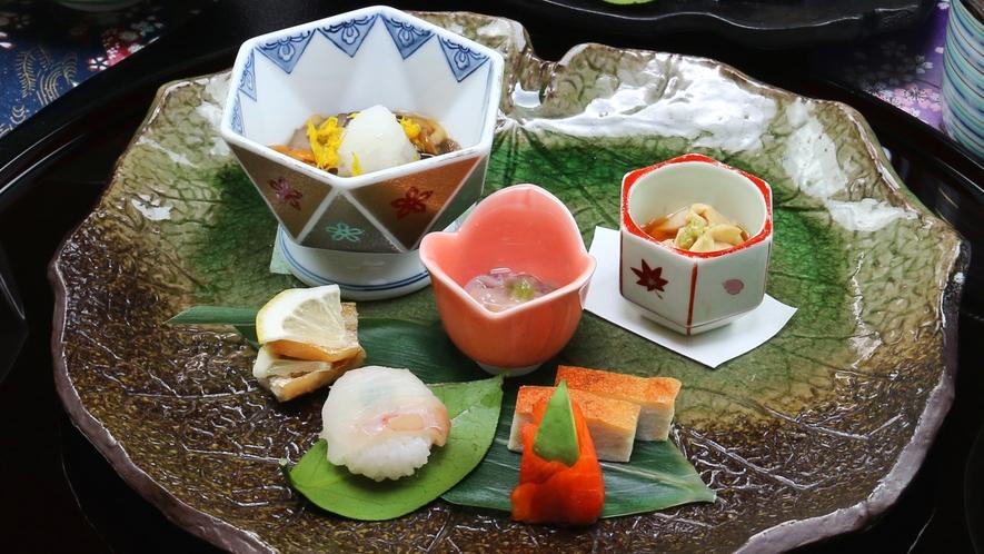 ■冬-笹倉 旬の味を一番大切に。素材をさらに美味しく感じる手伝いをするのが割烹