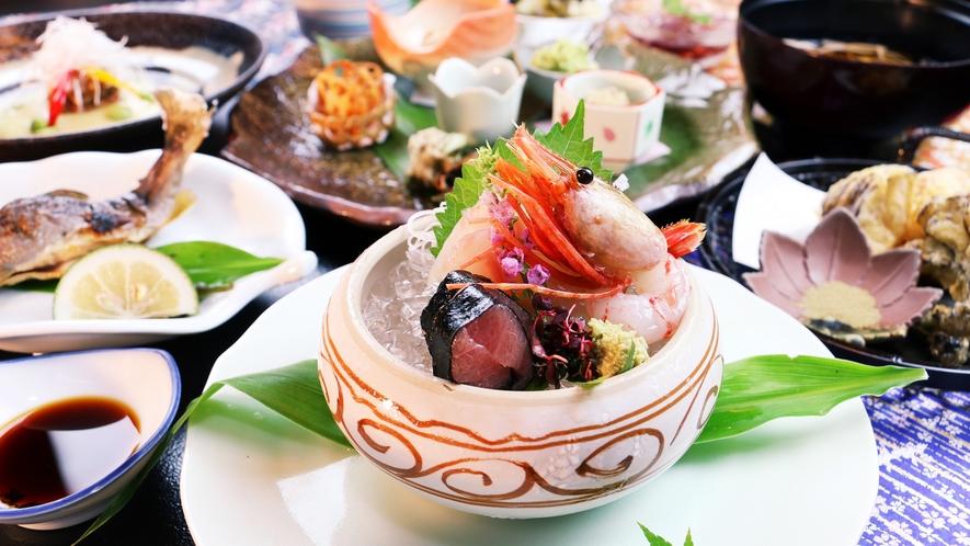 ■秋-松倉 三陸の旬の魚介を新鮮なうちに
