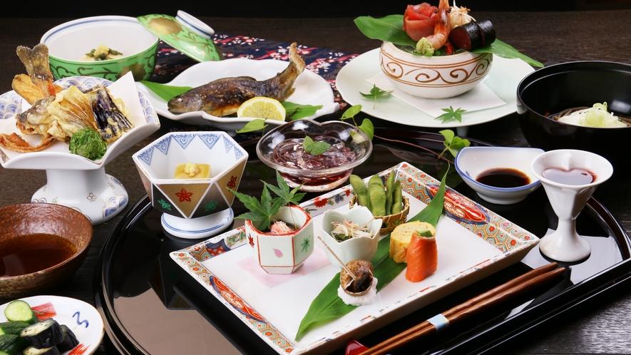 ■日帰り-料理長おまかせ御膳 すべてが「とっておき」 見た目も美しく丁寧に仕上げた逸品を。