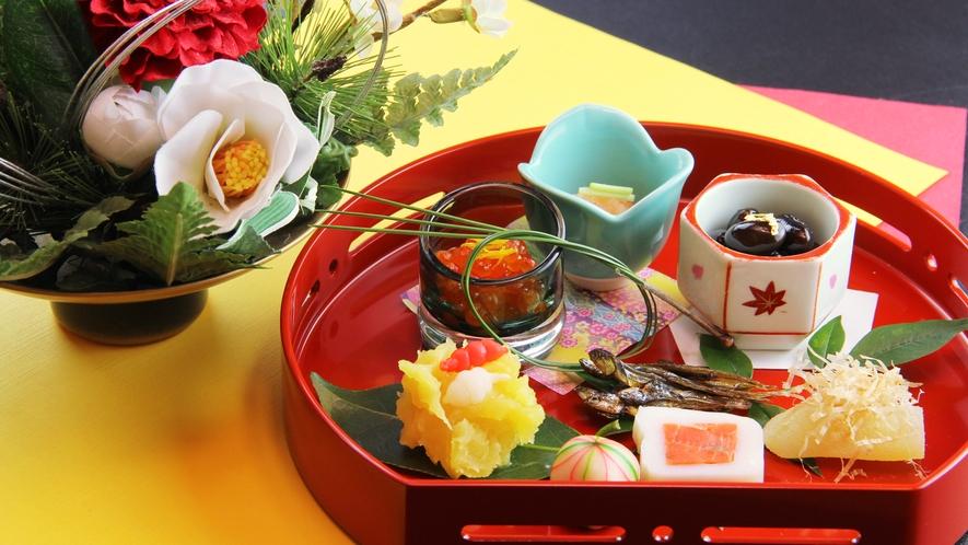 ■期間限定-お正月 晴れやかな気持ちになる彩り鮮やかなちどりの本格割烹で新年をお祝い。