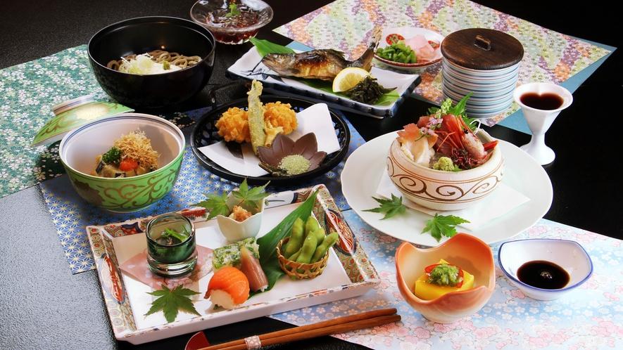 ■夏-松倉 旬の三陸の幸や自家栽培夏野菜、手打ち蕎麦などすべてが「とっておき」