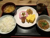 朝食(和食)500円