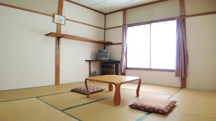 *【和室おまかせ/8畳】ゆったりとしたお部屋なら荷物が多くても心配無用!(※客室の指定不可)