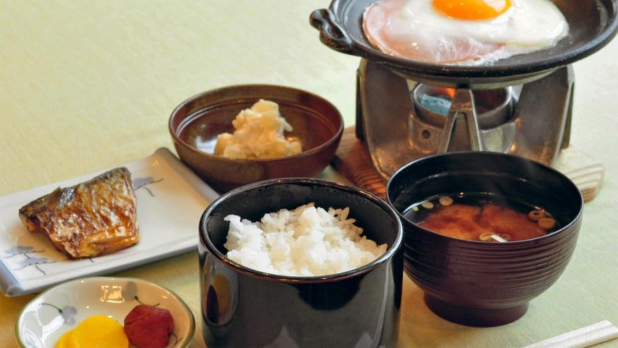 【朝食】一日の始まりはバランスの取れた朝食から★