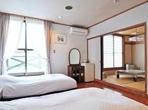 【本館 和洋室の一例】窓から優しい光が差し込みます♪