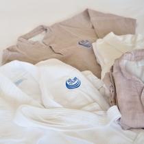 *【アメニティ】お部屋にはバスローブをご用意しておりますので、ご自由にご利用下さいませ。
