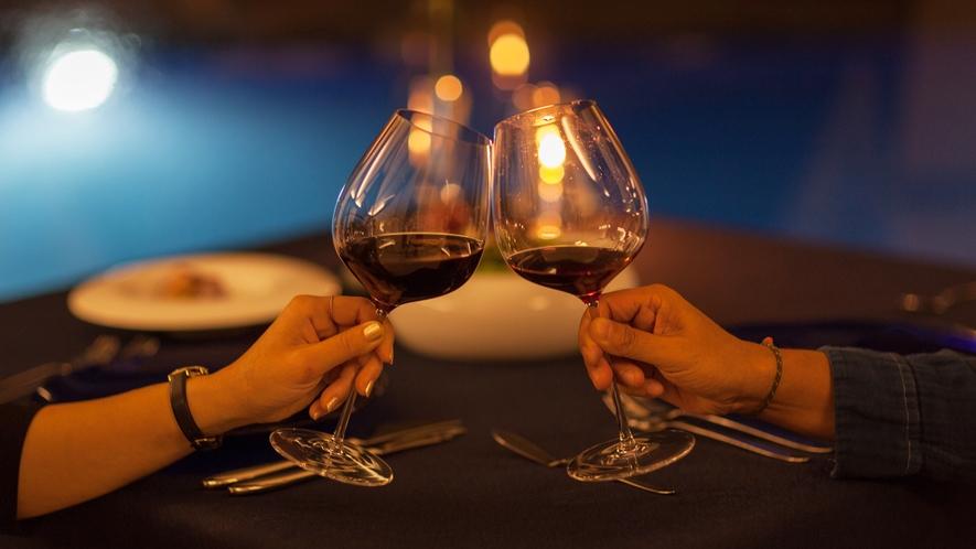 *【レストラン】ソムリエがお客様のご希望に沿ったワインをお出しいたします。