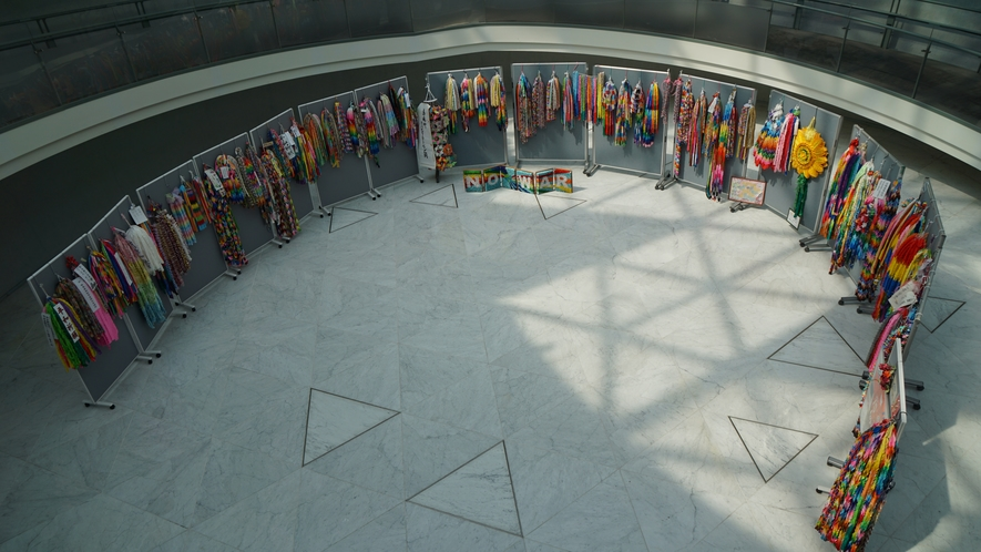 原爆資料館で平和を願う