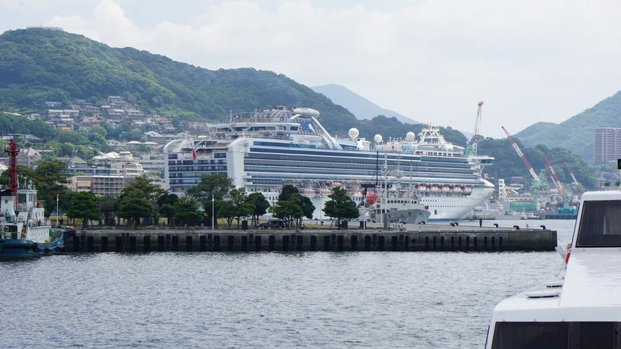 クルーズ船の入港数、日本第2位!