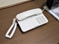 室内電話機内線電話のみ可外線発信、外線からの取次ぎ不可。