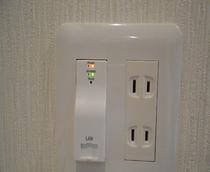 全客室インターネット接続 無料♪ 便利!安心!全室無料でWi-fiがご利用頂けます。