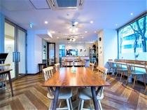 ♪当館1階カフェにて朝食をお召し上がり頂けます。毎朝6時30分~9時