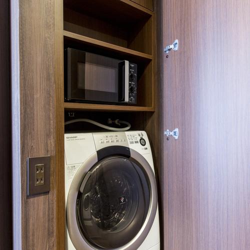 長期滞在にお薦め!客室に電子レンジ、洗濯機を完備〜レジデンスツインのみ〜