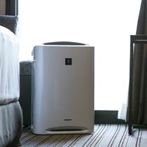 空気清浄機全室完備