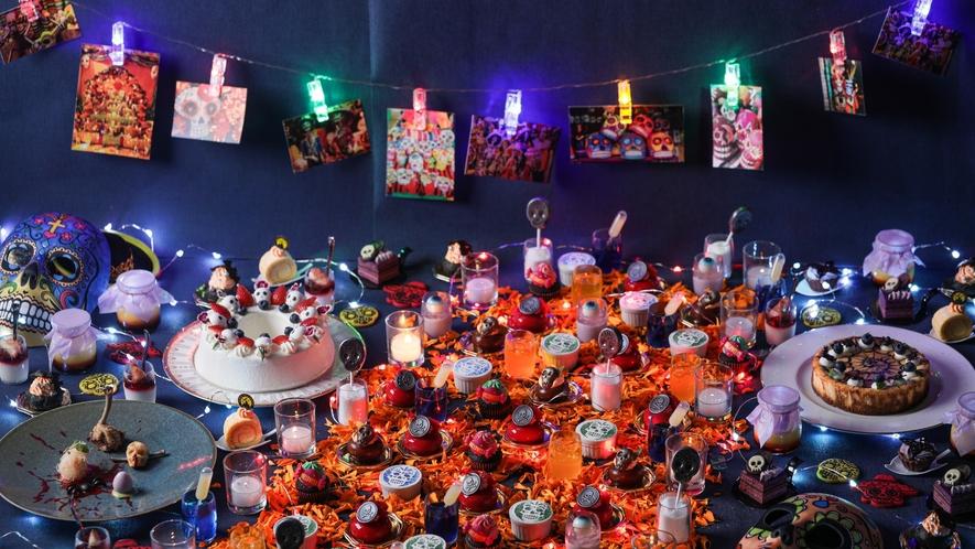 ガイコツのハロウィンパーティー