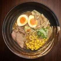 (夕食)味噌ラーメン