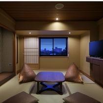 タタミルームA/温泉地ならではのゆったりした和室