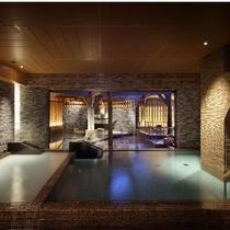 【内湯】伝統の名泉「湯の川温泉」