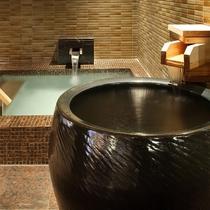 掛け湯&水風呂