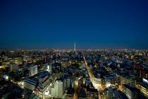 ホテルからの景観<シティービュー・夜>