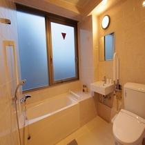 バリアフリールーム(ユニット様式バスルーム)