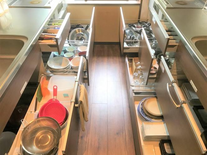 共用キッチン調理器具