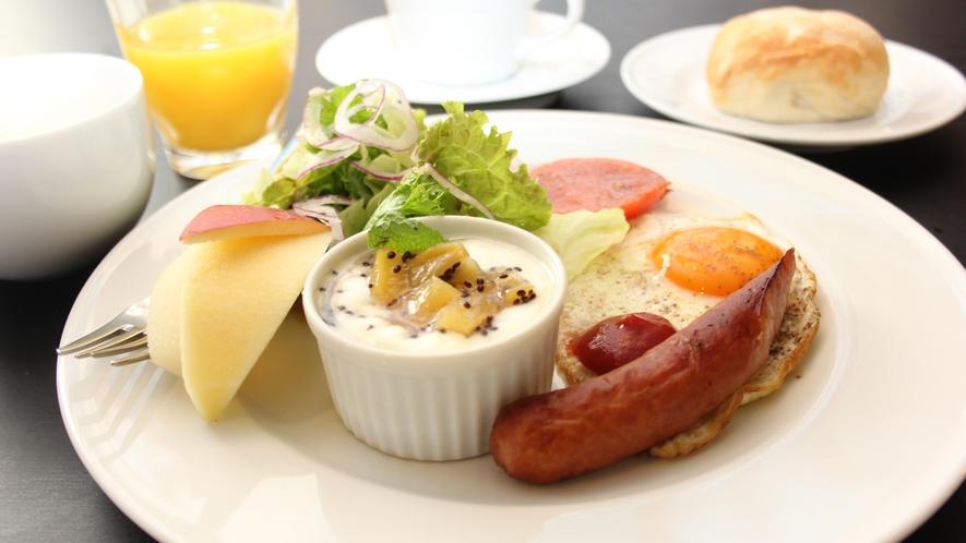 朝の体に元気をくれる、女性オーナー手づくりの朝食☆彡
