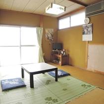*【客室一例】シンプルで飾り気のない畳のお部屋です