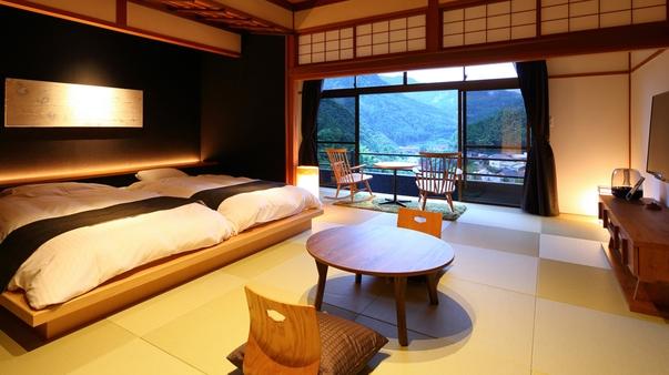 ◆【離れ・和洋室】半露天風呂付き客室〜松〜