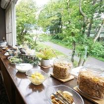 白馬の日替わり朝食(バイキングパターン2)