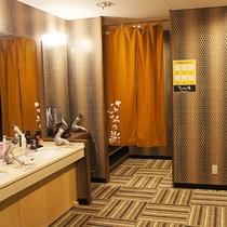 大浴場更衣室