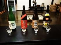 地物の日本酒
