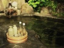 温泉とお酒