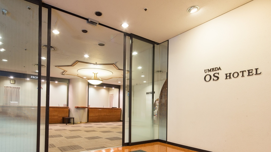ホテル入り口(3階)