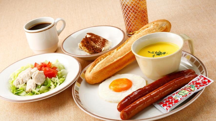 選べるサイゼリヤ朝食「ホットドッグモーニングセット」