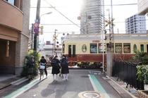 最寄り駅の荒川一中前駅