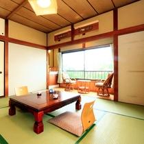 客室の一例★落ち着く空間でのんびりと♪和室8畳