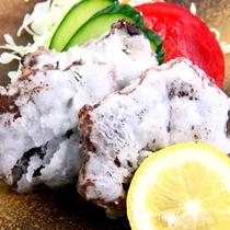 鯨竜田揚げ★料理の一例