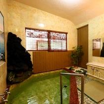 お部屋毎の貸切として入浴可能★内湯1つのみ