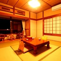 *和室8畳 全室オーシャンビュー!客室はすべて2Fにあり日当たり良好!