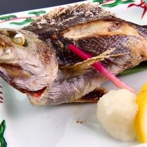 地魚の塩焼き★料理の一例