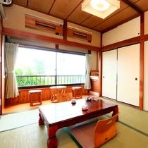 和室6畳★客室の一例 落ち着いた空間で、足を伸ばしてゆっくりと♪